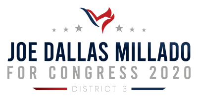 Joe Millado Campaign District 3 Logo